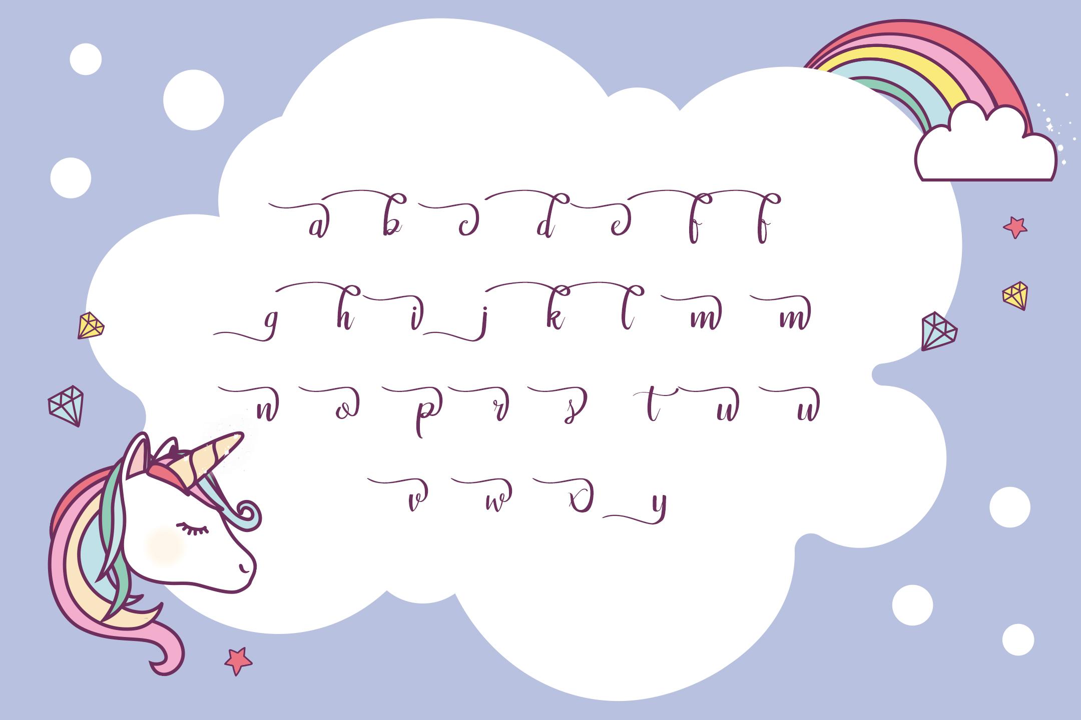 Rainbow Script example image 13
