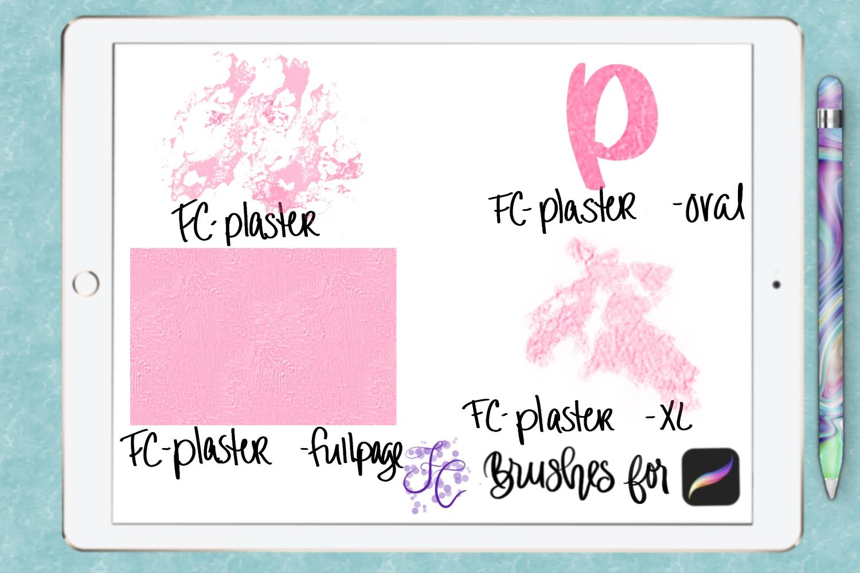 FC-plaster-set2 for PROCREATE example image 7
