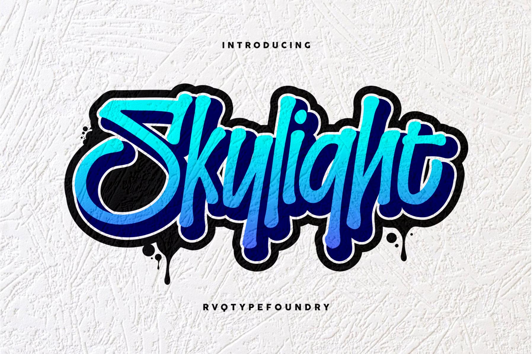 Skylight Graffiti example image 1
