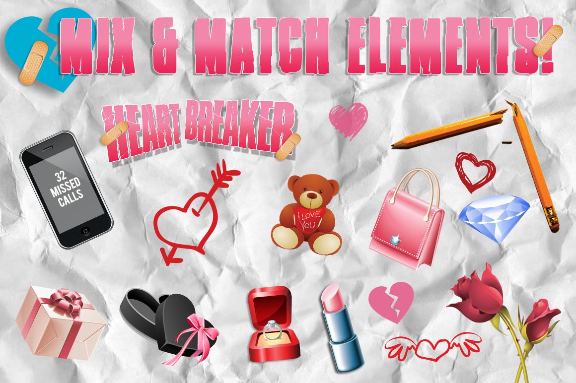 Heart Breaker Valentines Flyer example image 2