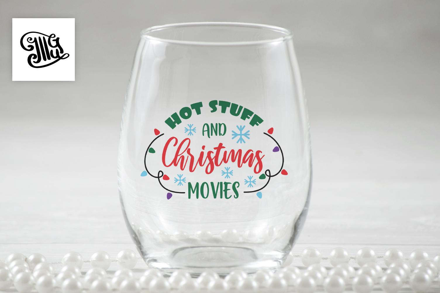 Christmas wine svg bundle example image 9