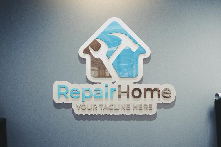 Home Repair Logo example image 4