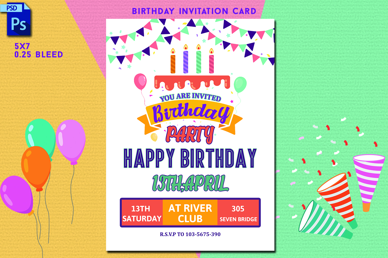 Fine Example Invitation Card Birthday Party Cobypic Com Funny Birthday Cards Online Fluifree Goldxyz