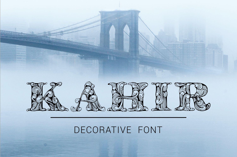 Kahir Font example image 1