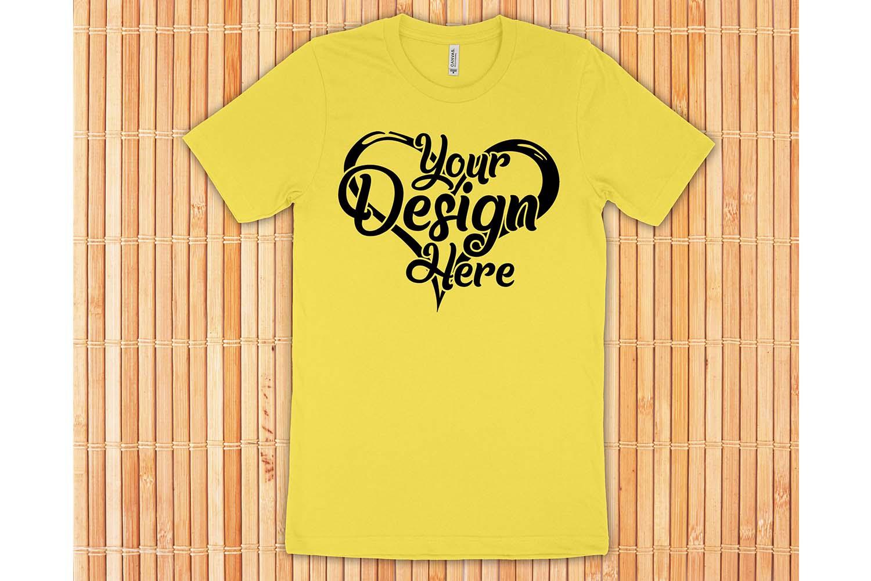 Bella Canvas 3001 Mockup Bundle T-Shirt Mock Ups 063 example image 7