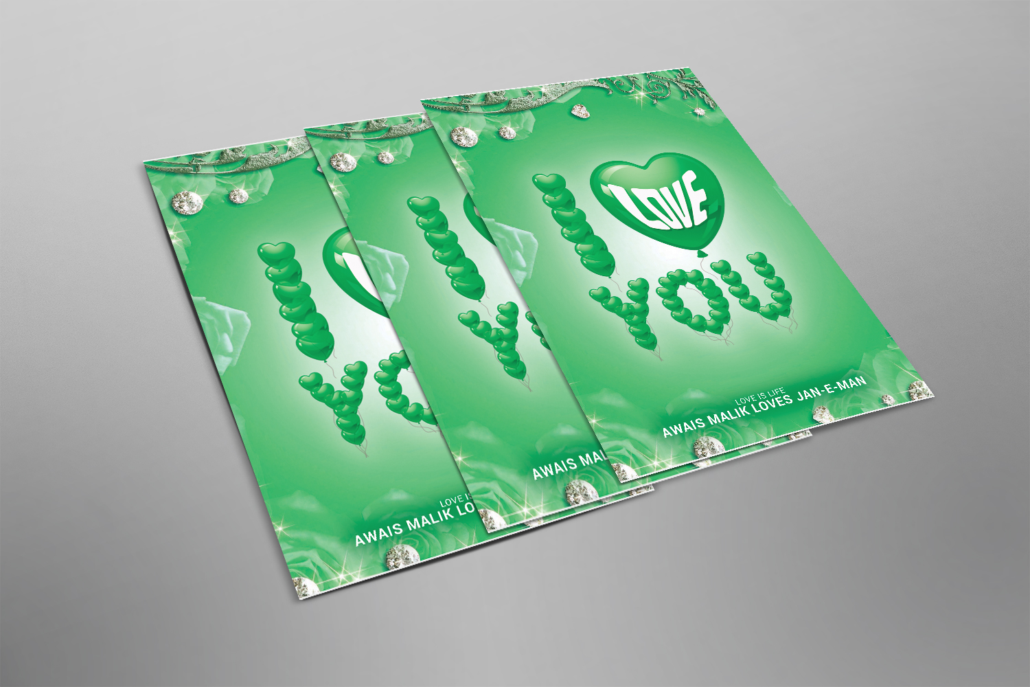 I love You Poster example image 2