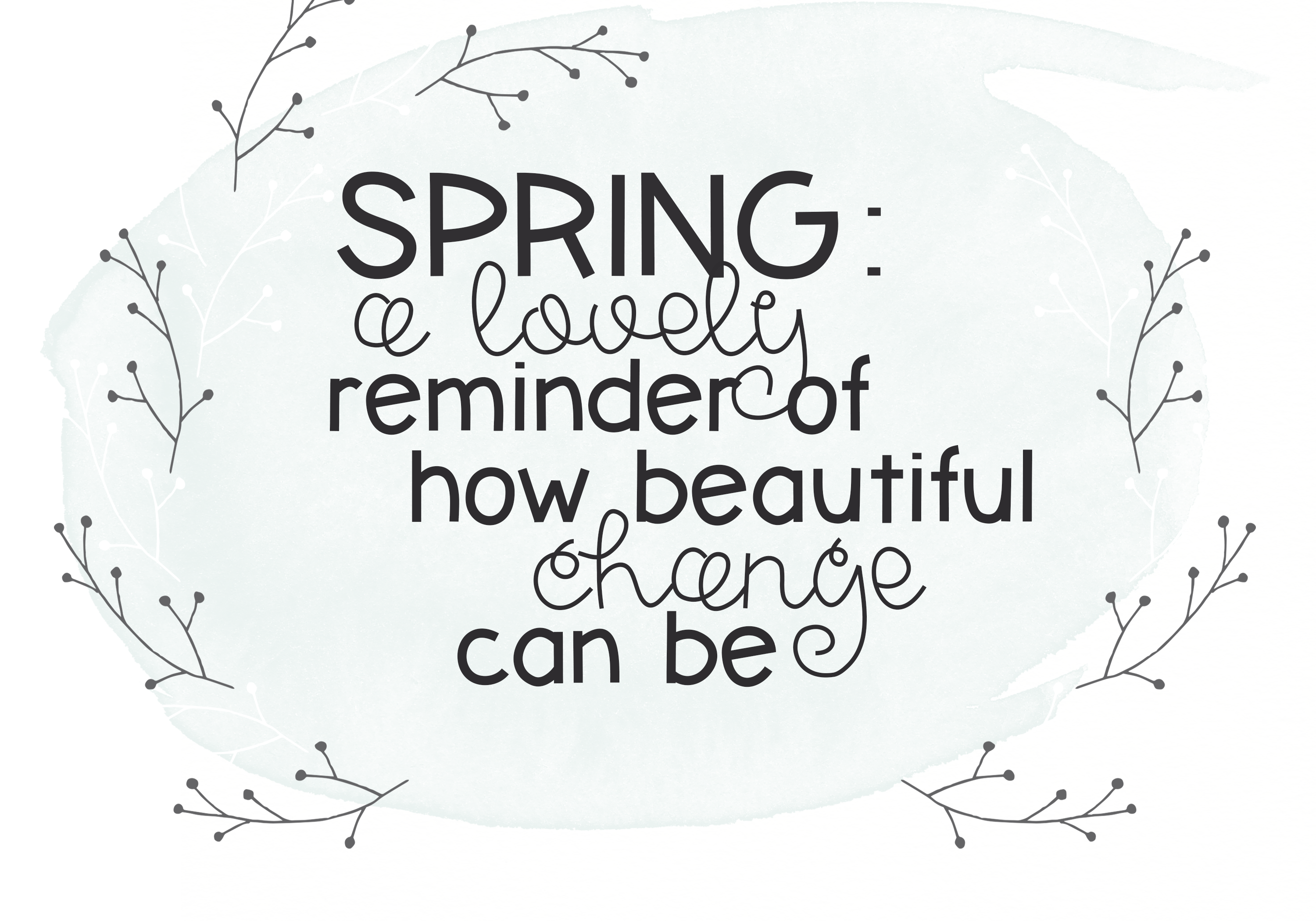 Spring Sunshine - A Serif & Script Font Duo example image 4
