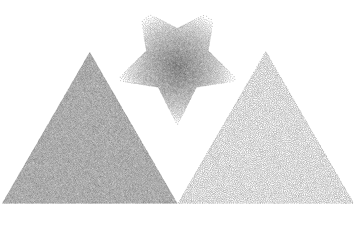 Vector dots. Halftone collection. example image 9