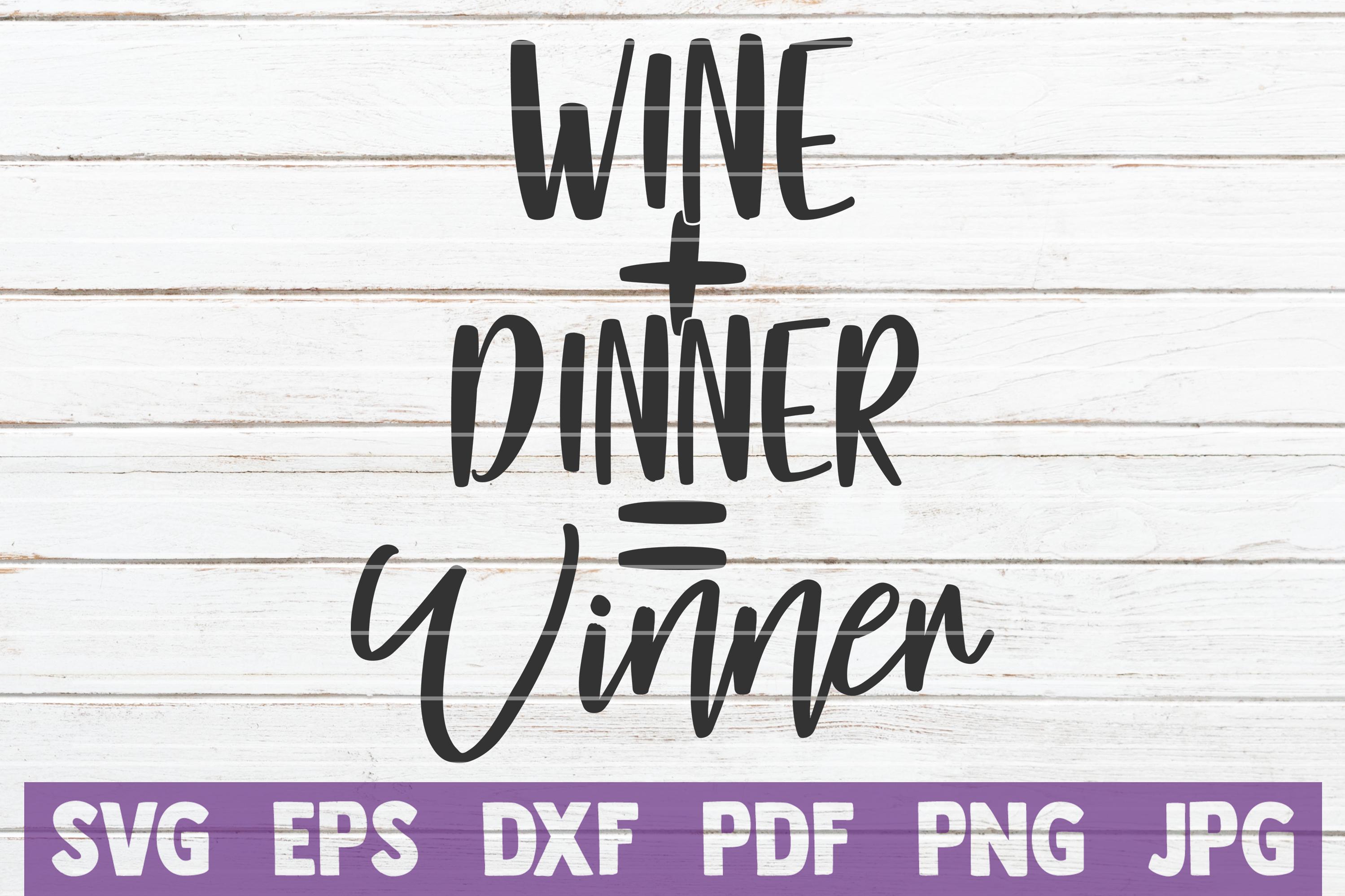 Wine Sayings Vector Bundle   SVG Cut Files example image 21