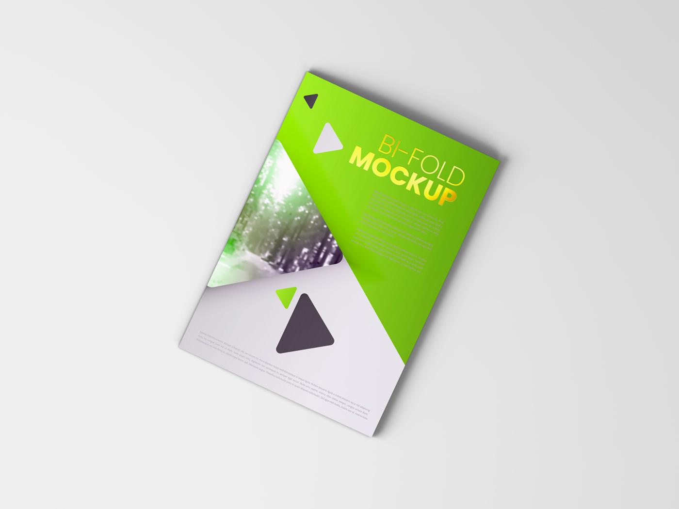 A4 Bifold Mockups V3 example image 17