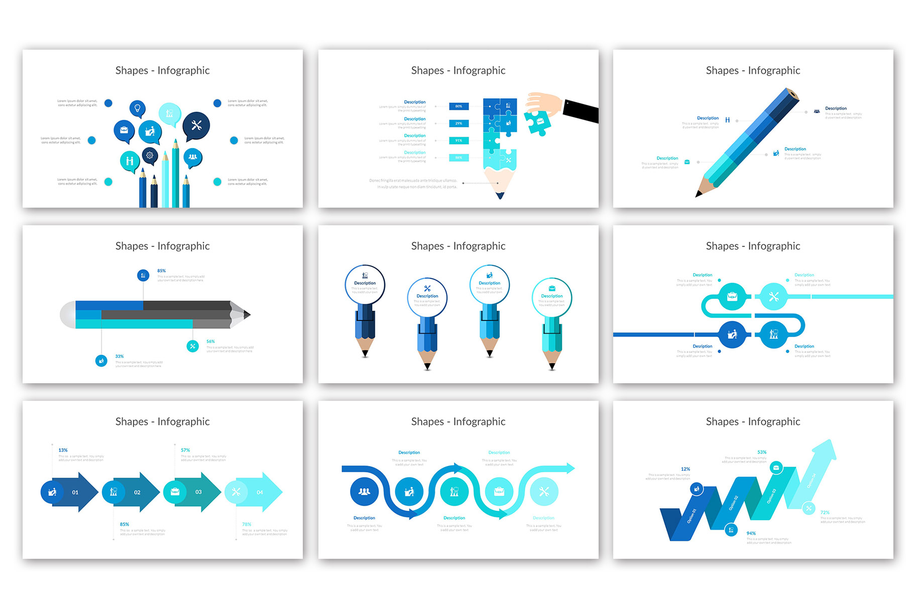 Big Business Presentation Template example image 14
