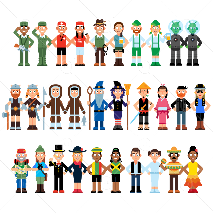 90 Miscellaneous Avatar Characters example image 4
