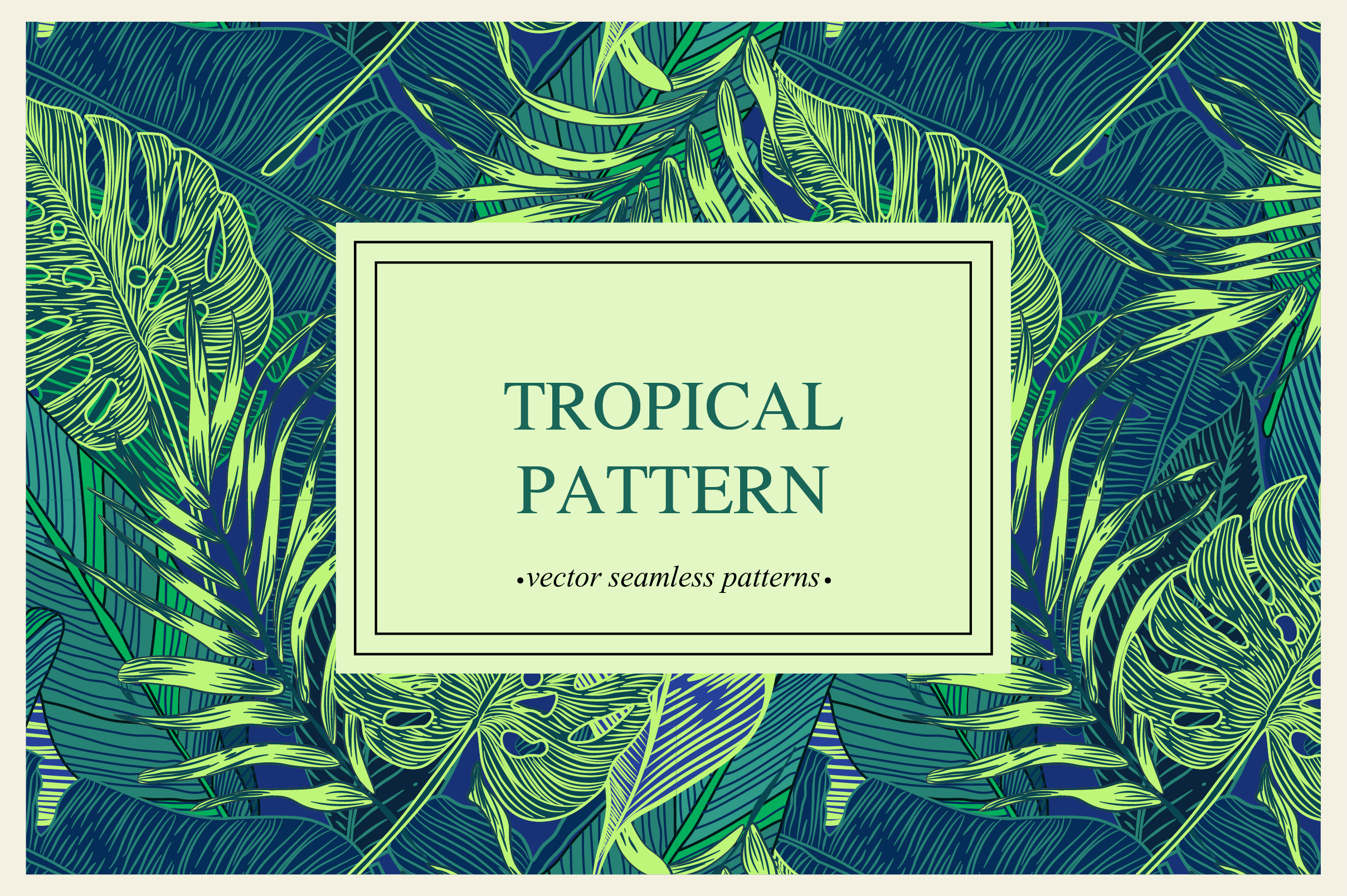 Tropical pattern example image 5