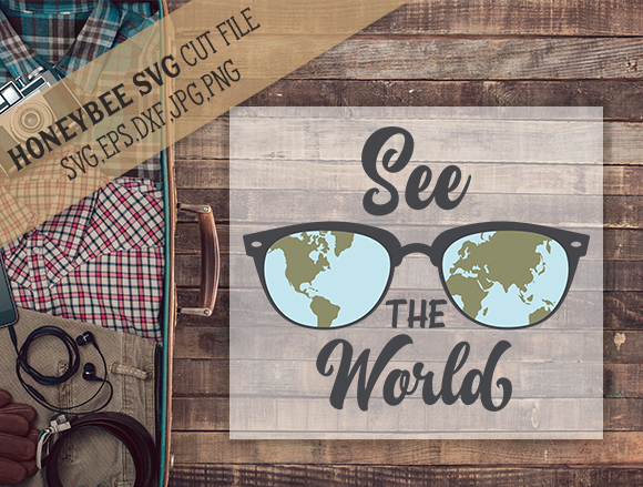 See The World cut file example image 1