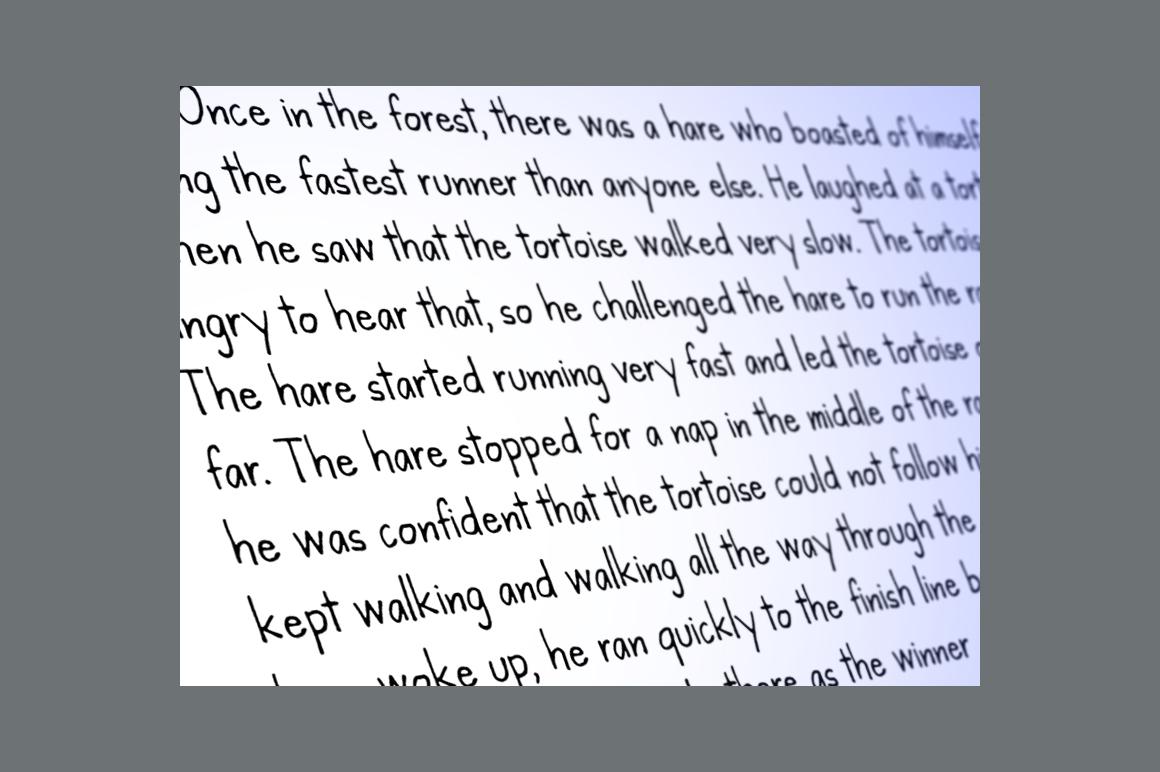 Kanda Handwriting Typeface example image 3