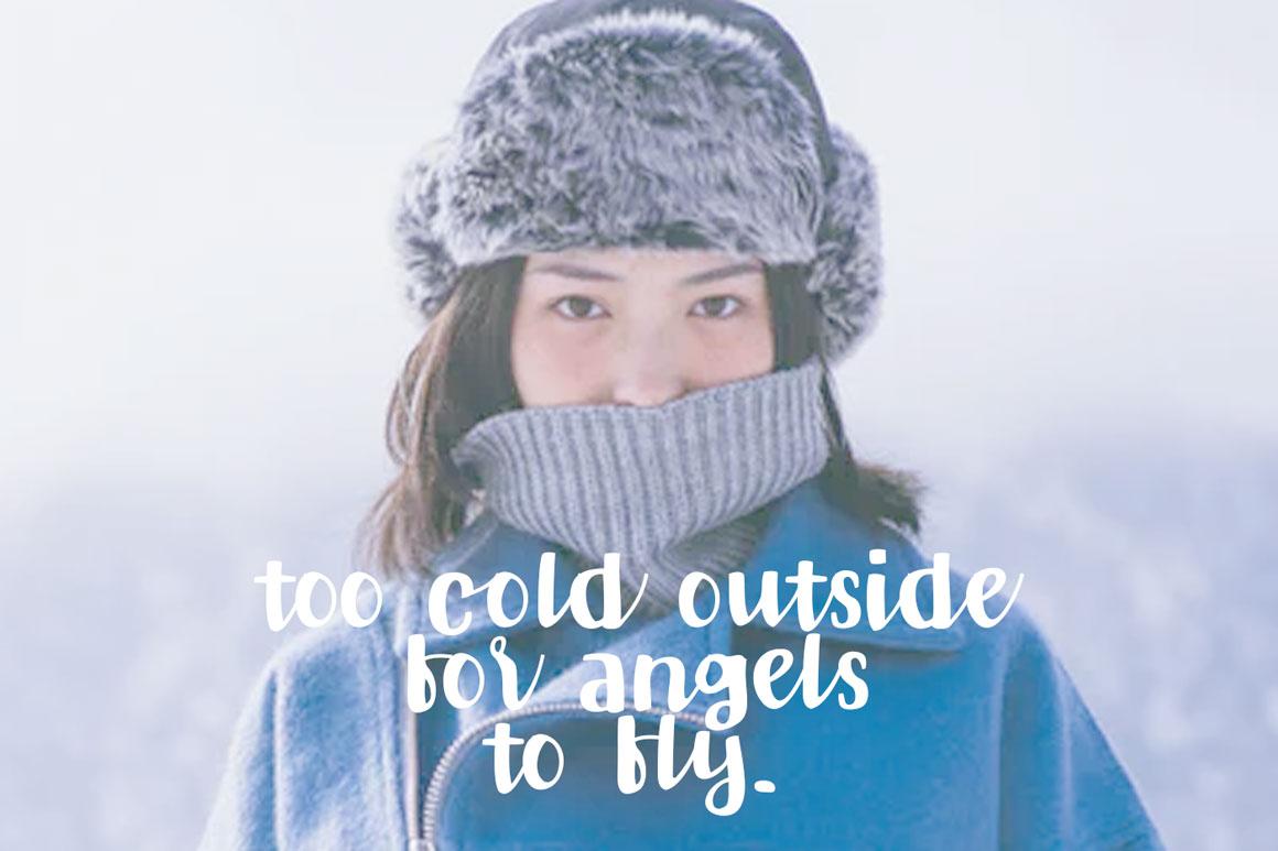 Winter Star - Playful Handwritten Font example image 4
