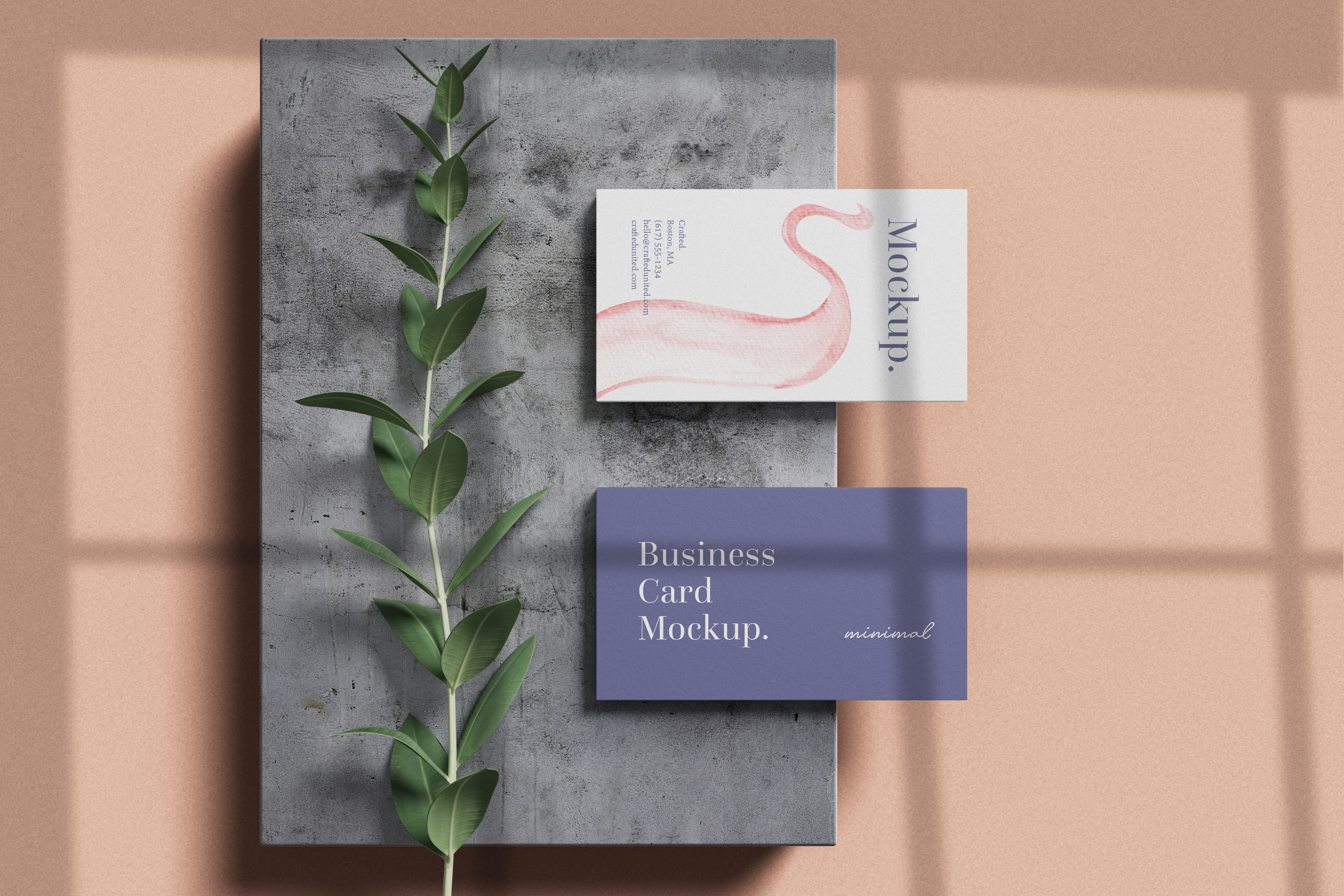 Modern Business Card Mockup example image 7