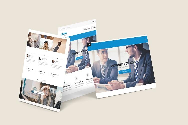 3D Web Showcase Mockup example image 10