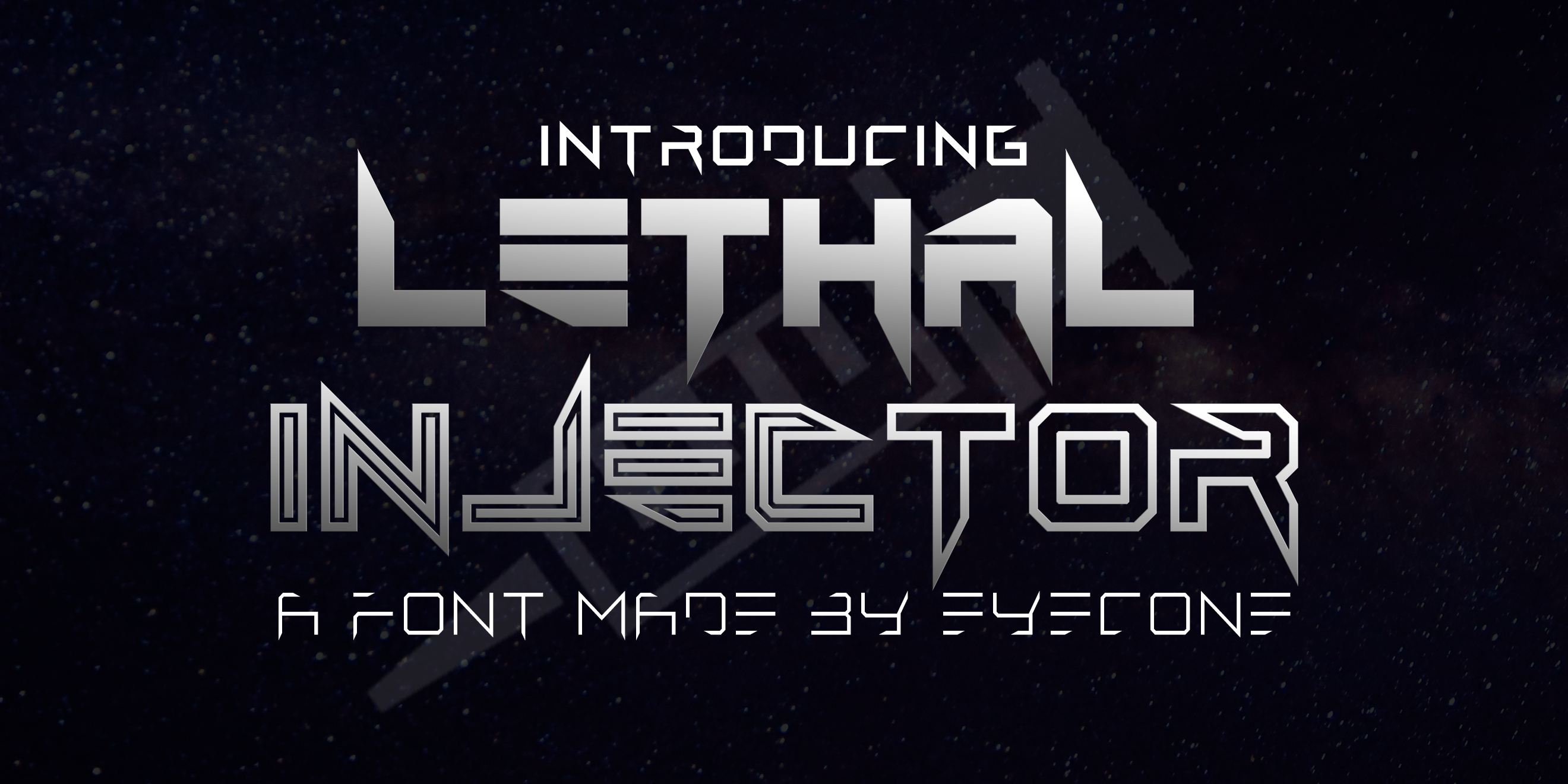 Lethal Injector Layered Typeface example image 7