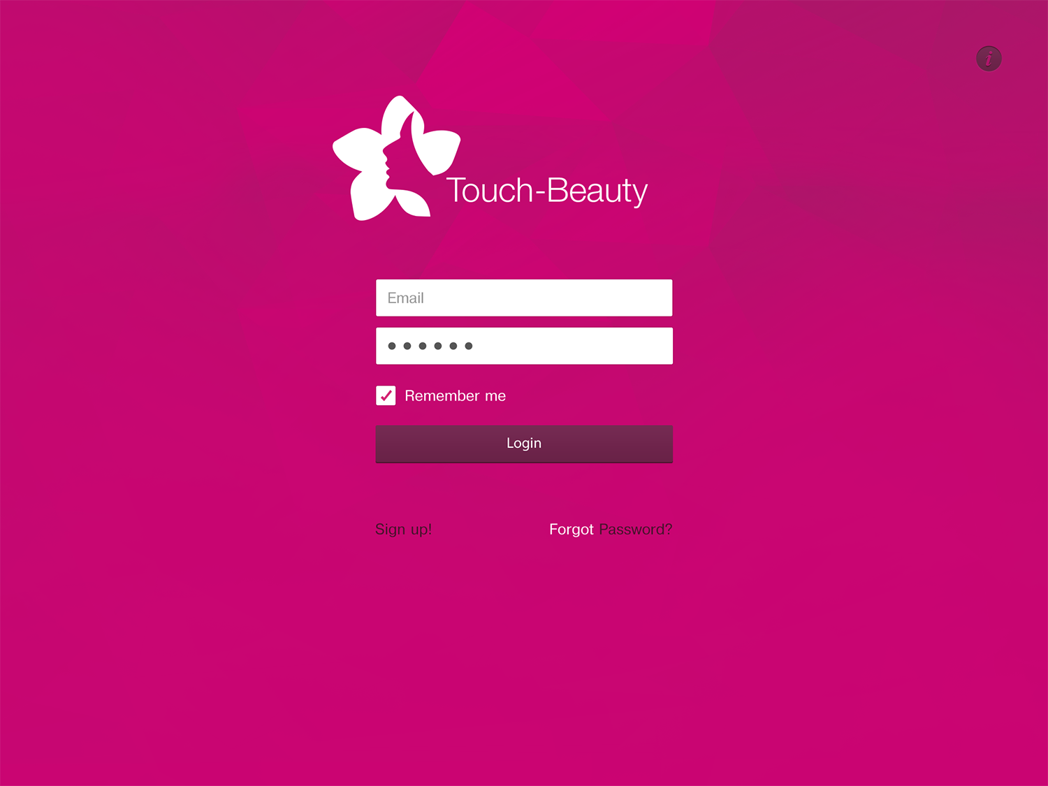 Touch Beauty UI kit example image 8
