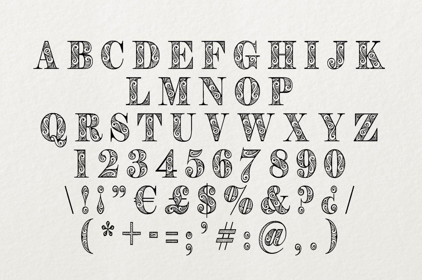 Zengo font example image 6