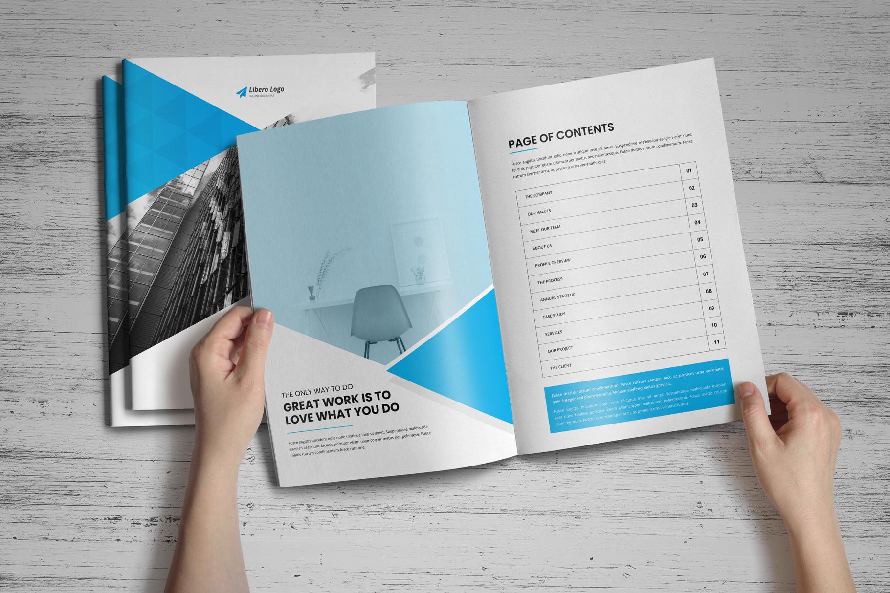Annual Report Design v6 example image 15