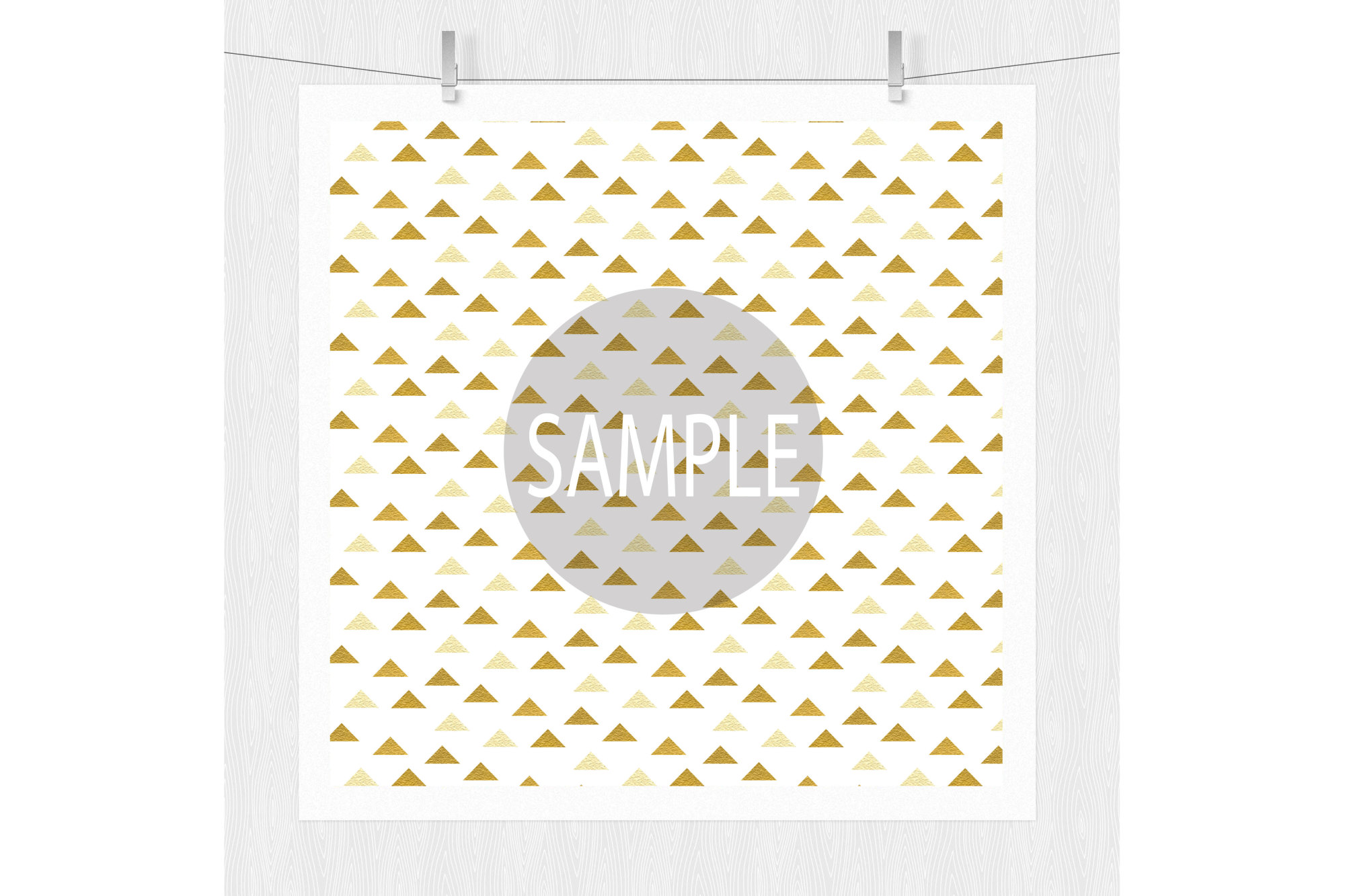 Black and Gold Digital Paper Patterns example image 5