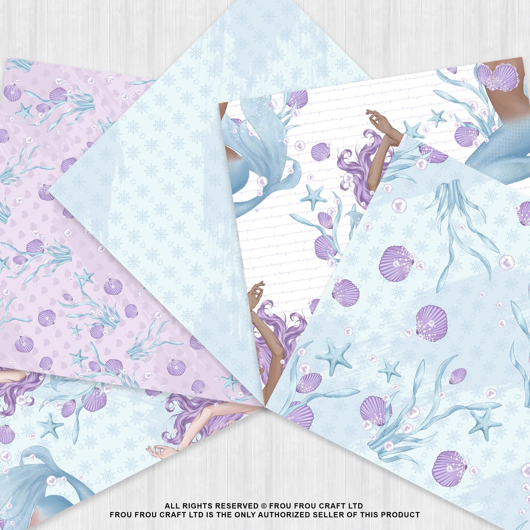 Mermaid Fairy Tale Sea Shell Ocean Paper Pack example image 2