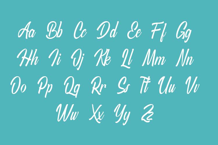 Agatha - Script Font example image 7