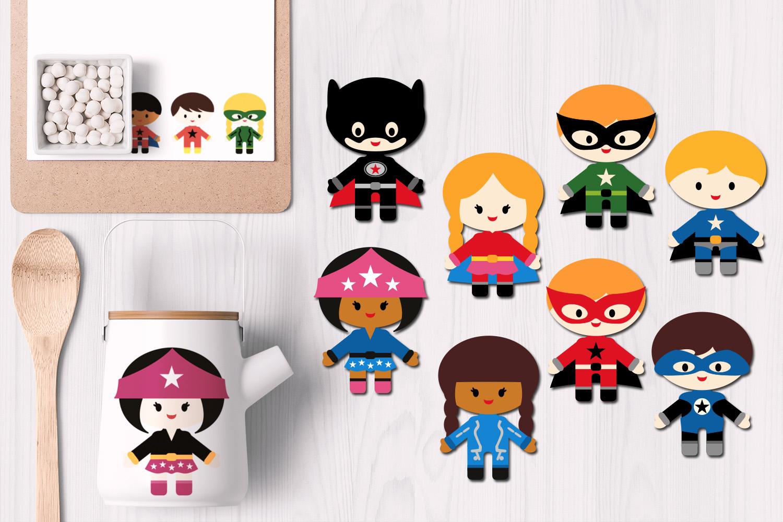 Superhero design bundle graphics and illustrations example image 5