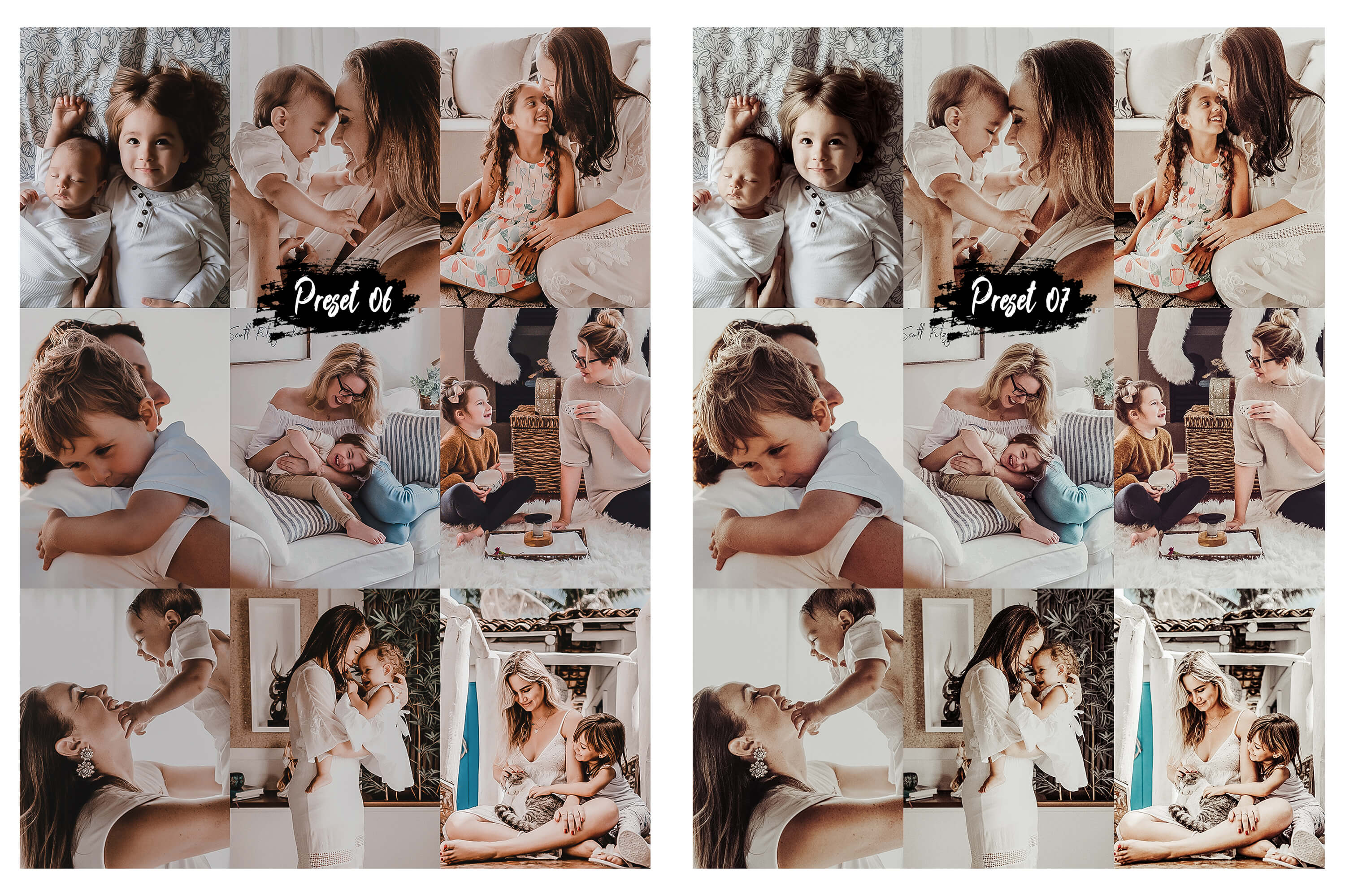 10 Family & Kids Photoshop Actions, ACR and LUT presets example image 7