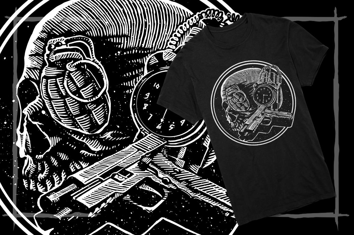 T-Shirt Designs Skull example image 8