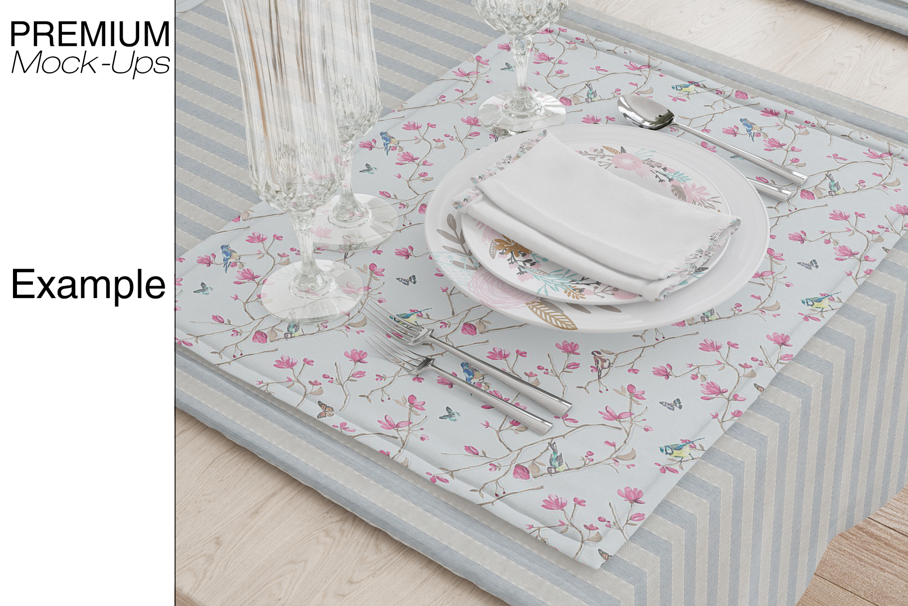 Tablecloth, Runner, Napkins & Plates example image 6