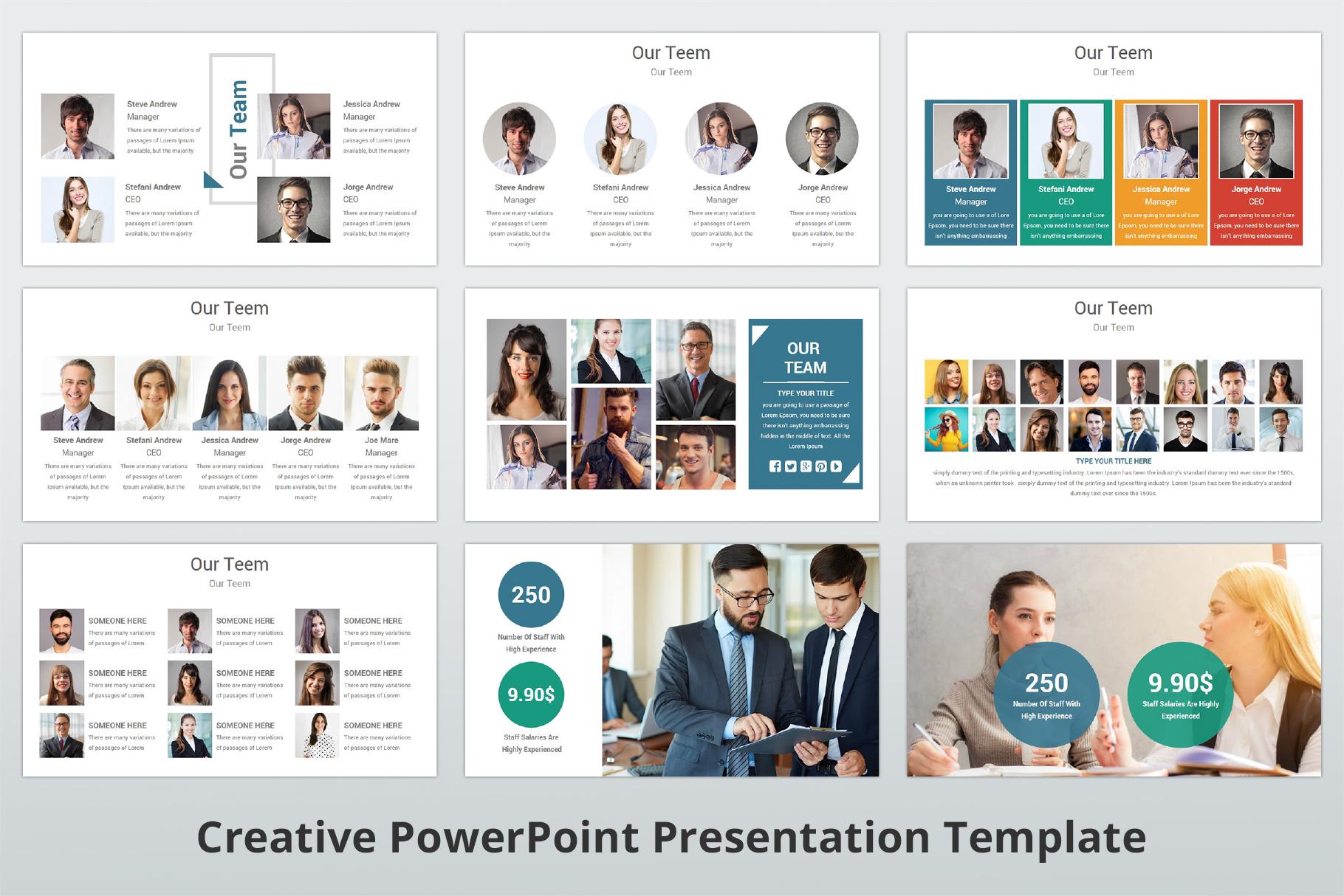 Creative multipurpose PowerPoint Presentation Template example image 7