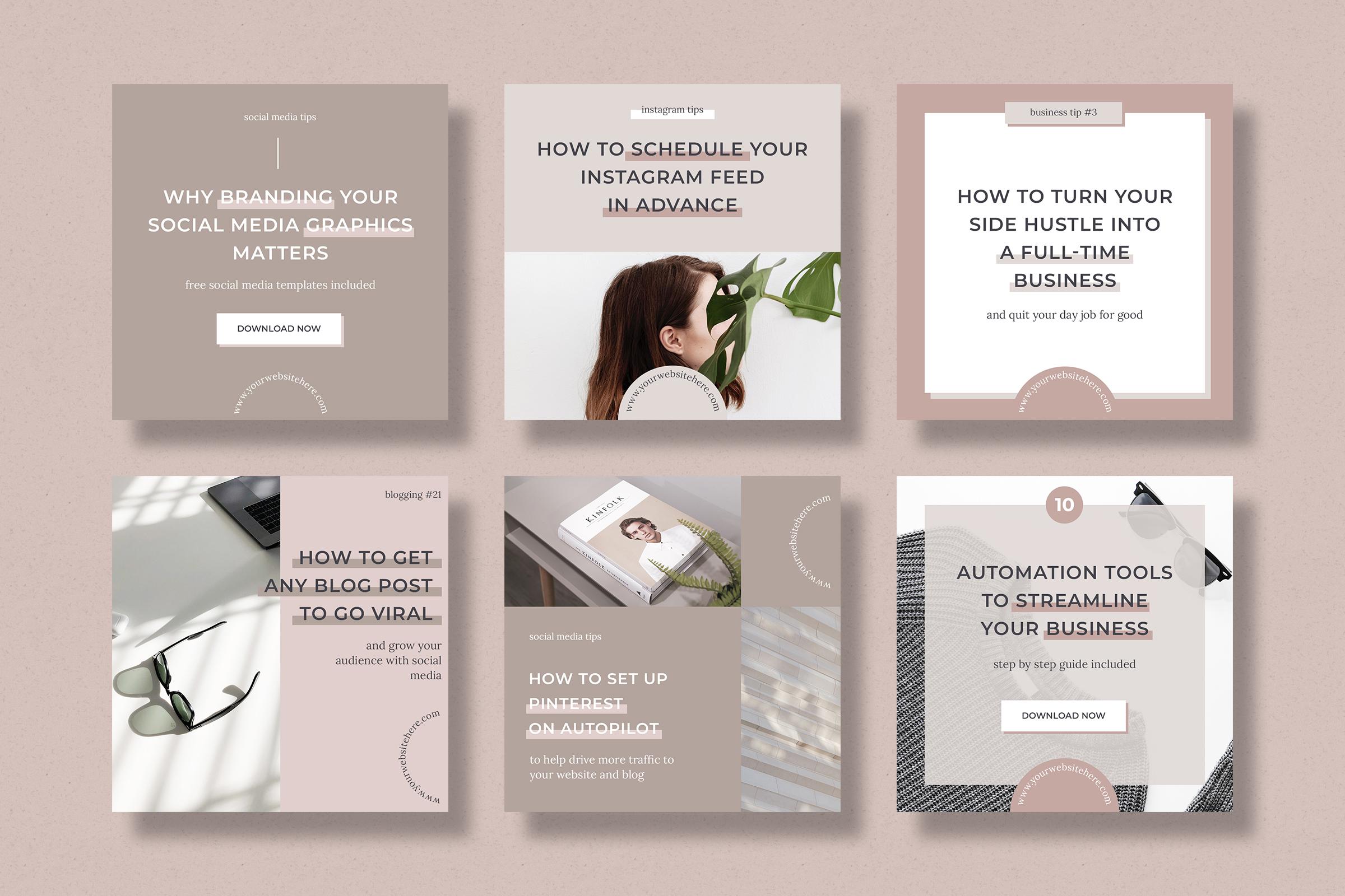 Instagram marketing bundle for bloggers example image 4
