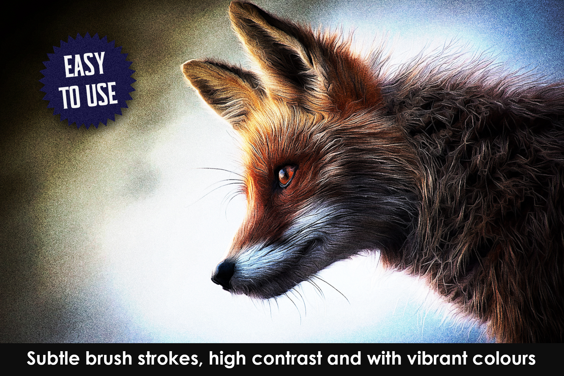 Airbrush Poster Photoshop Action example image 6