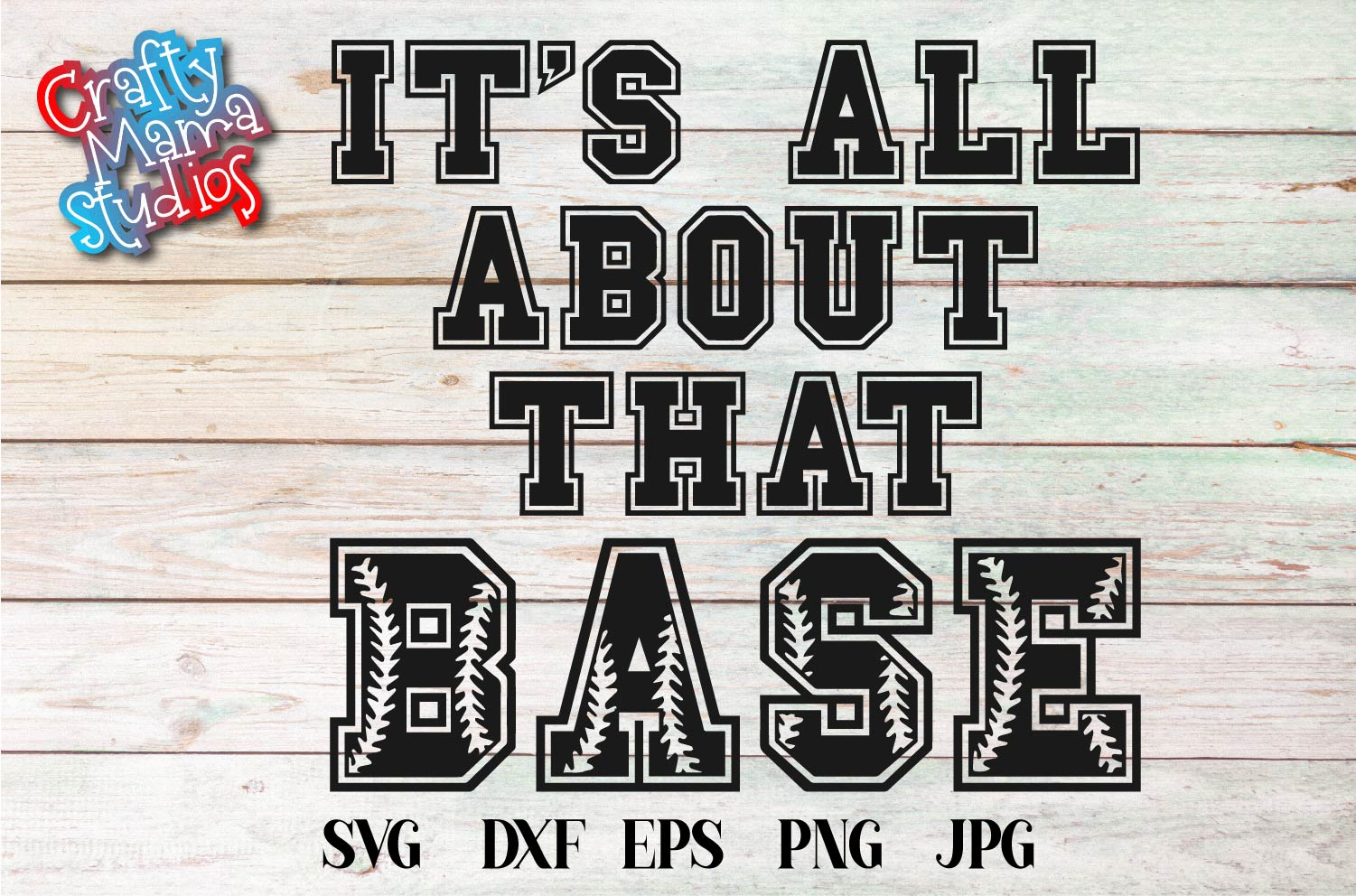 Baseball SVG, It's All About That Base SVG, Home Plate File example image 2