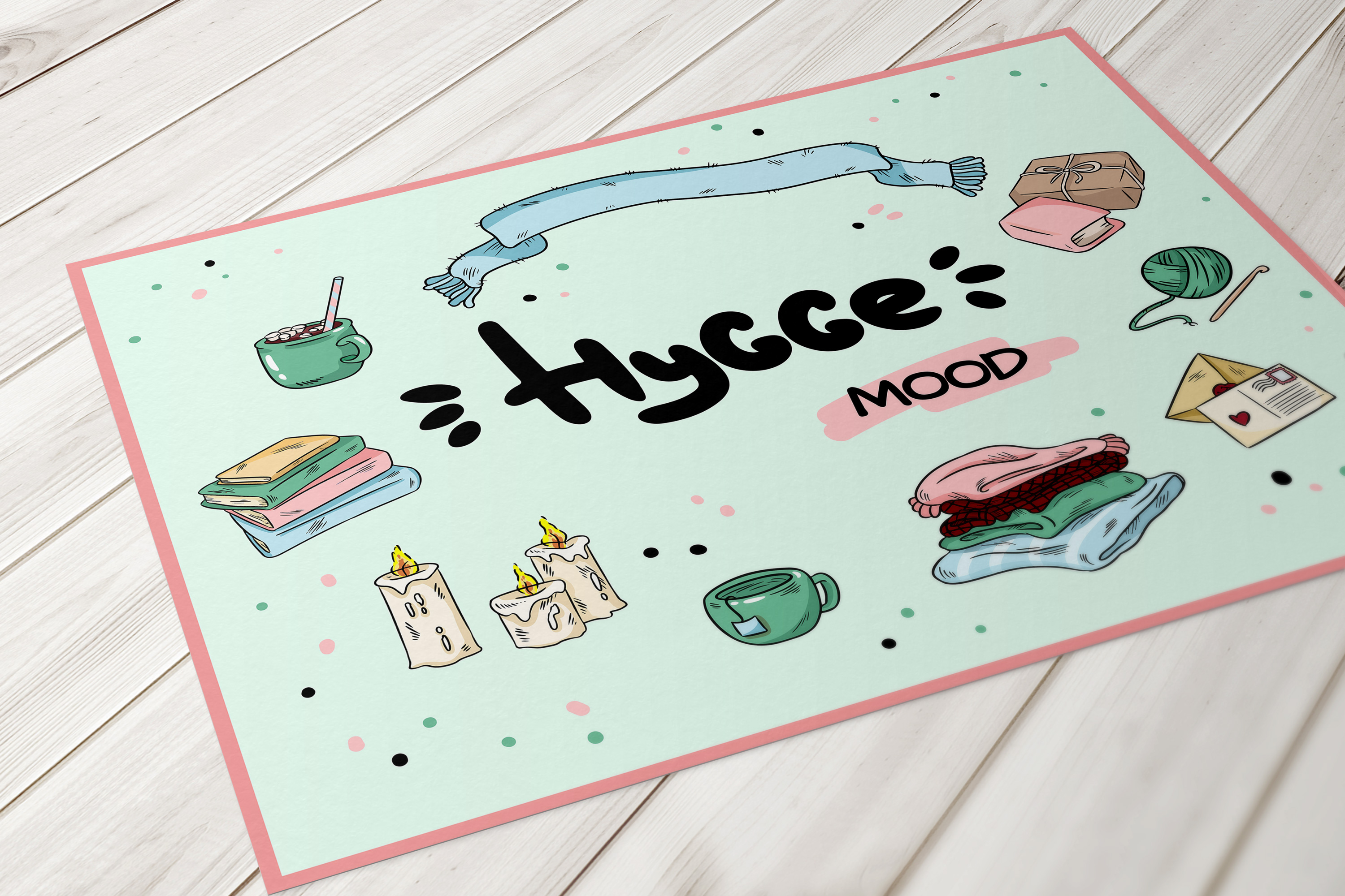Hygge Mood Postcards example image 2