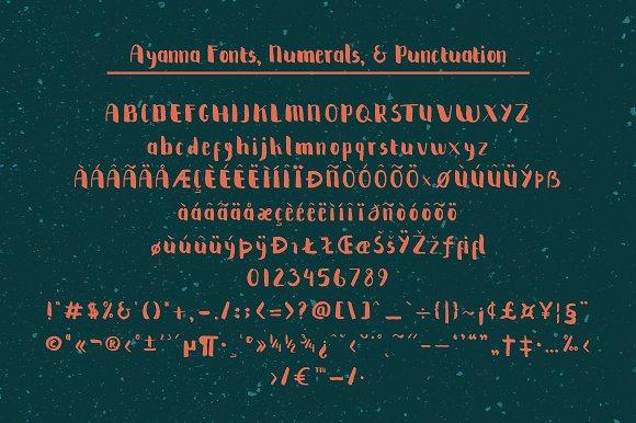 Ayanna Handwritten Font example image 3