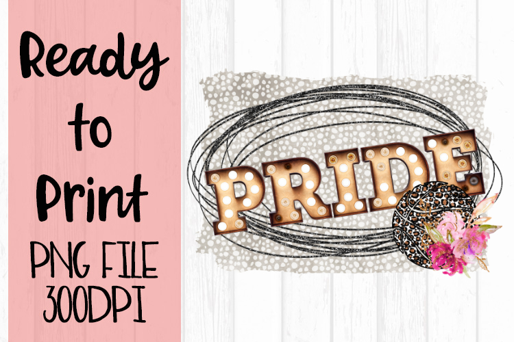 Glitter Pride Basketball Ready to Print example image 1