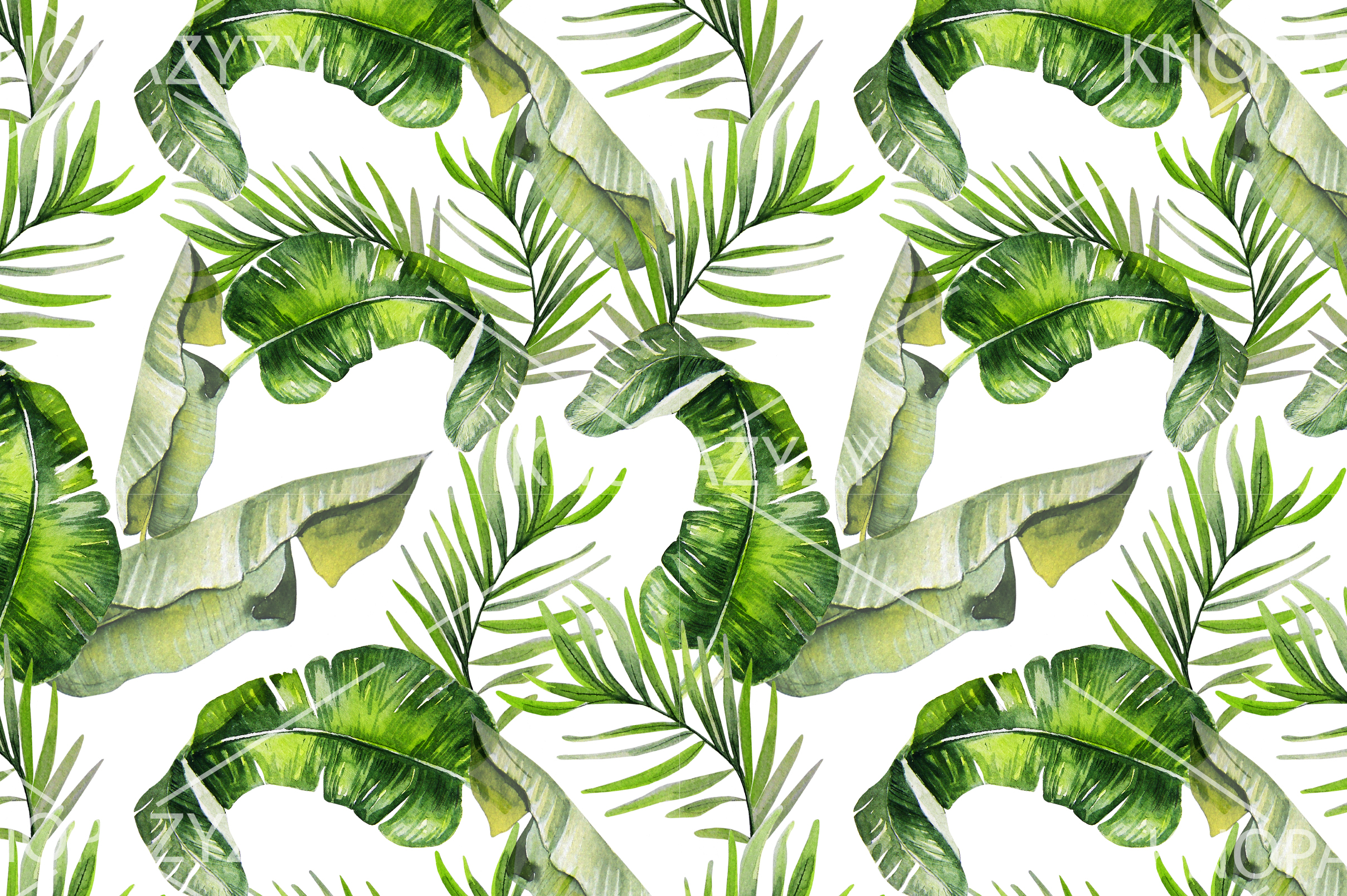 16 Hand Drawn Watercolor Pattern example image 8