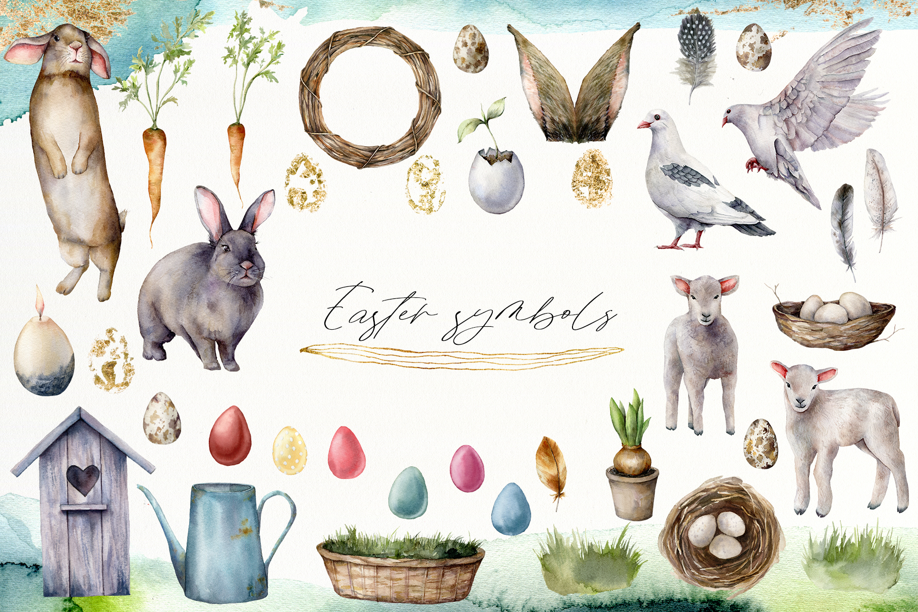 Spring song. Graphic collection example image 11