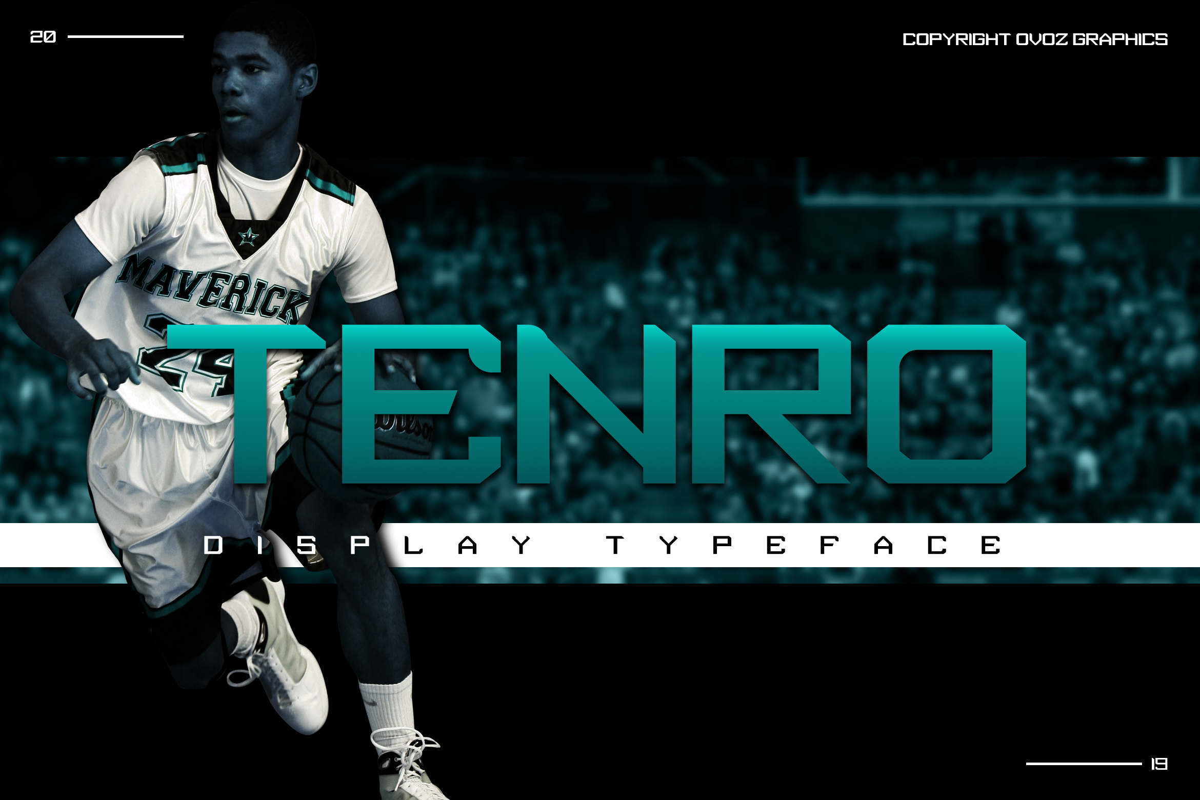 Tenro Display Font example image 1