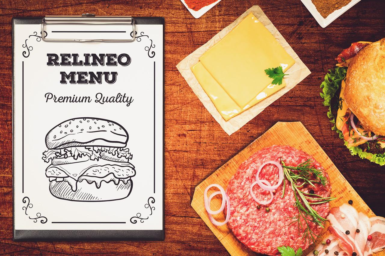 Fast Food Menu Mock-up Pack#1 example image 4