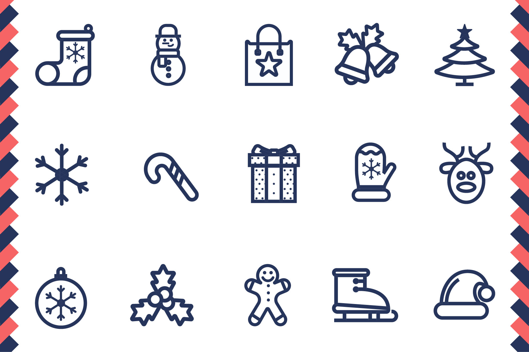 Christmas Icon Set example image 4