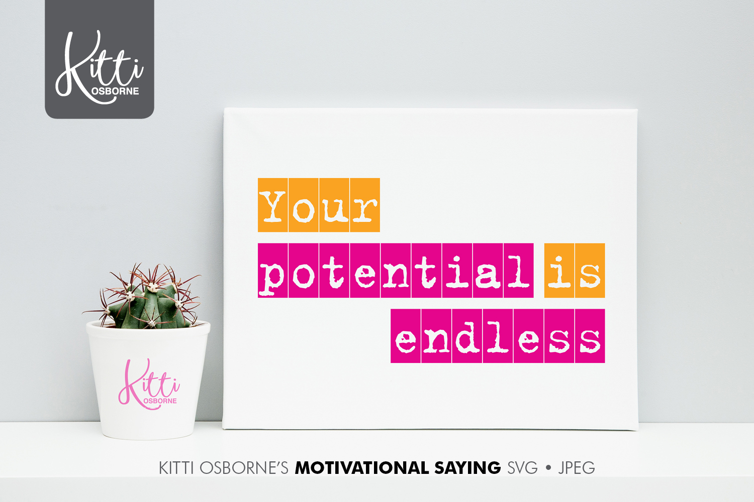 Motivational Saying SVG, Jpeg example image 1