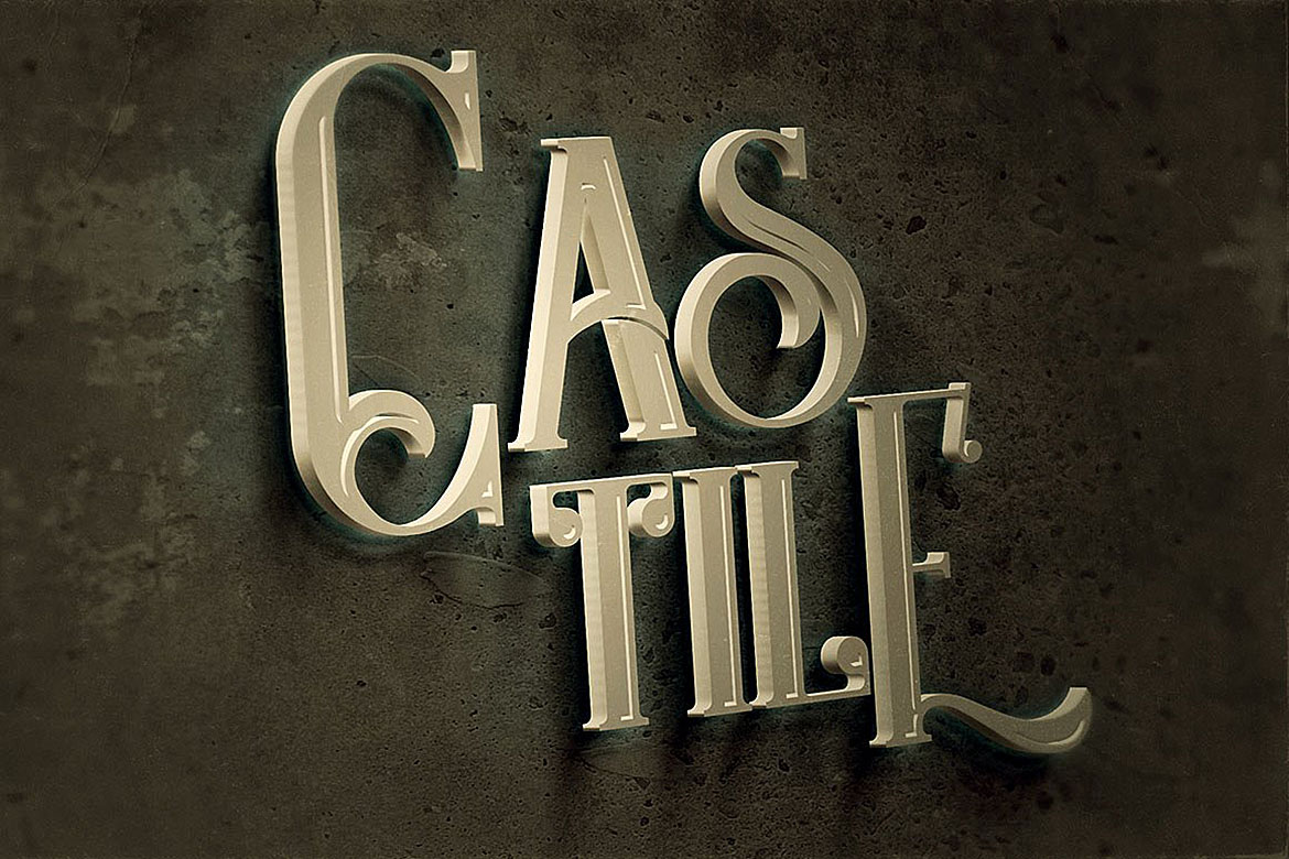 Castile - Display Font example image 3