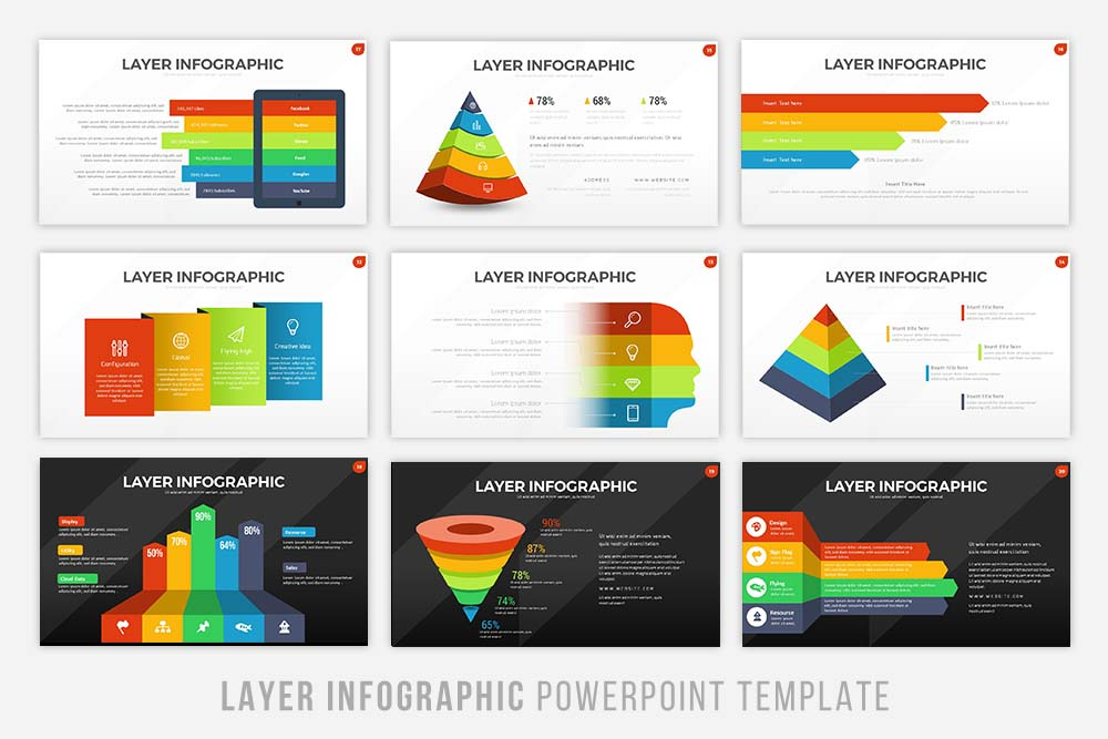 Layer Infographic Powerpoint example image 3