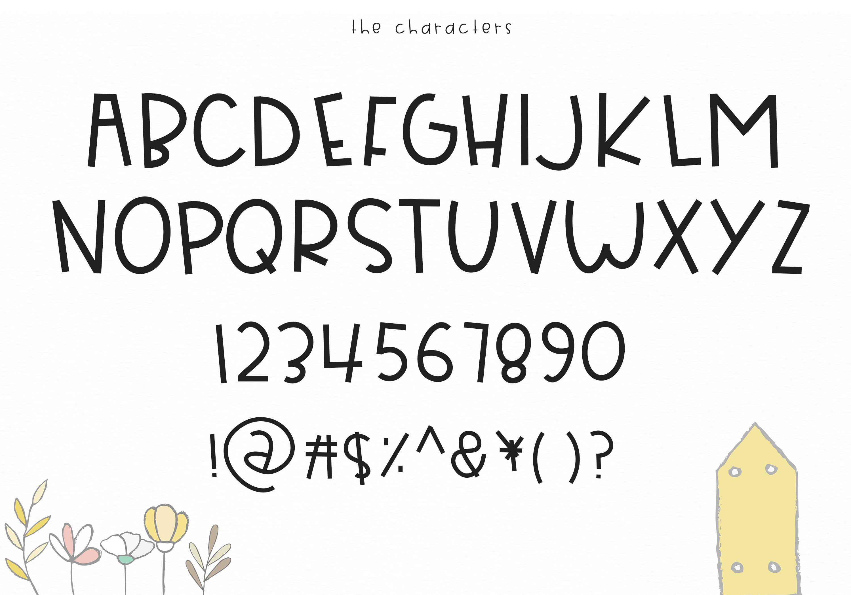 Bearly Awake - Handwritten Font example image 5
