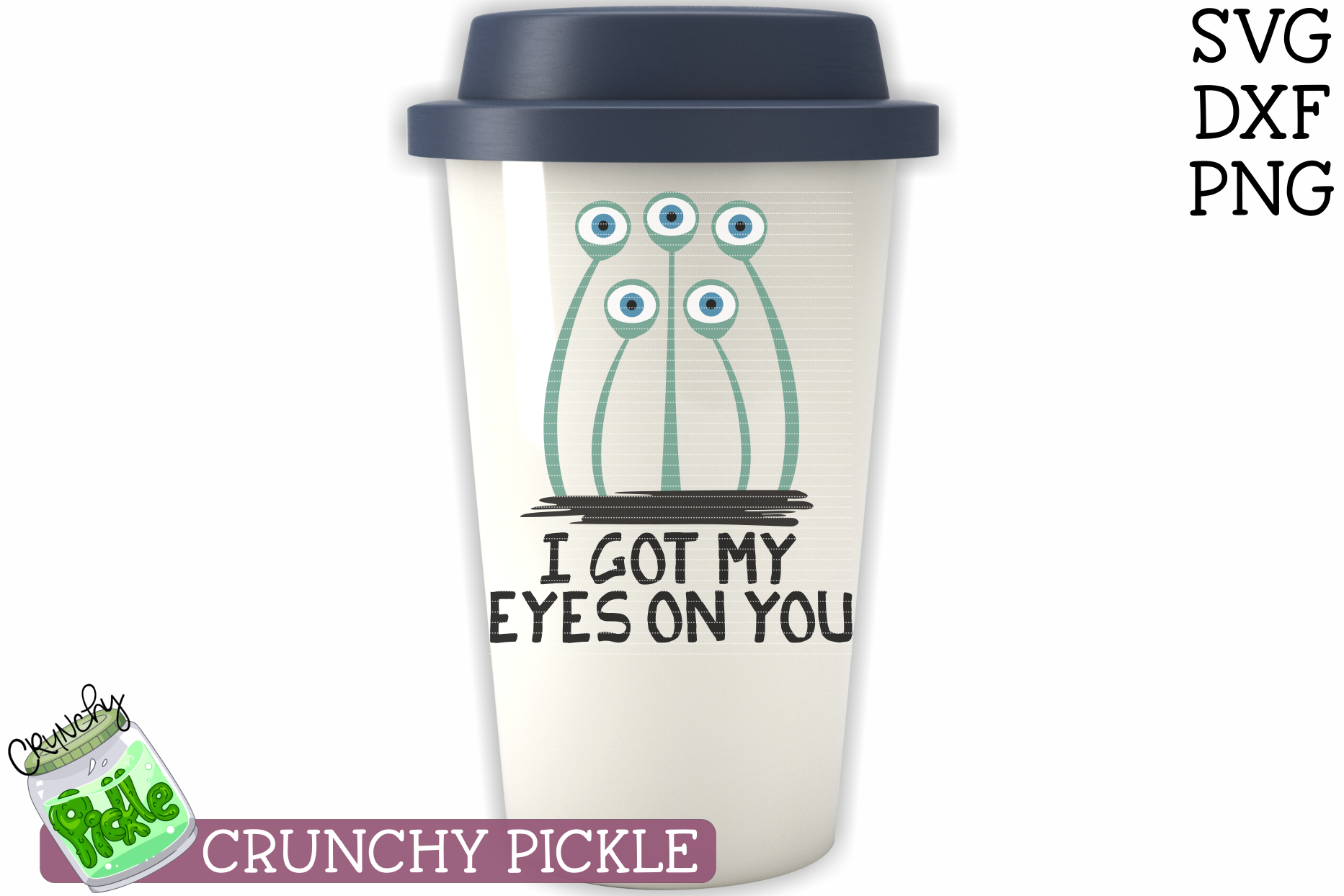 I Got My Eyes On You Halloween SVG example image 4